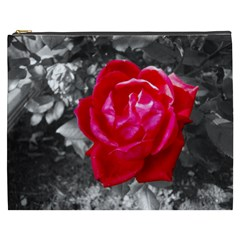 Red Rose Cosmetic Bag (XXXL)