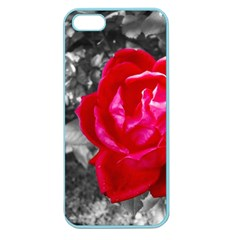 Red Rose Apple Seamless Iphone 5 Case (color)