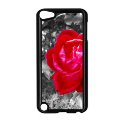 Red Rose Apple Ipod Touch 5 Case (black)