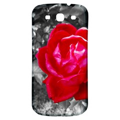 Red Rose Samsung Galaxy S3 S III Classic Hardshell Back Case