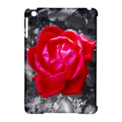 Red Rose Apple Ipad Mini Hardshell Case (compatible With Smart Cover)