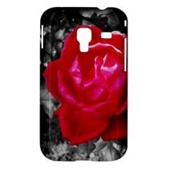 Red Rose Samsung Galaxy Ace Plus S7500 Case