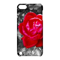 Red Rose Apple Ipod Touch 5 Hardshell Case With Stand