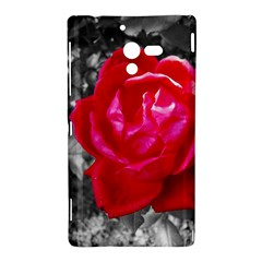 Red Rose Sony Xperia ZL L35H Hardshell Case