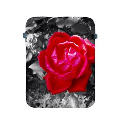Red Rose Apple Ipad Protective Sleeve