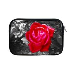 Red Rose Apple Ipad Mini Zippered Sleeve