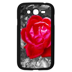 Red Rose Samsung Galaxy Grand DUOS I9082 Case (Black)