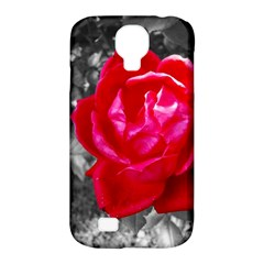 Red Rose Samsung Galaxy S4 Classic Hardshell Case (PC+Silicone)