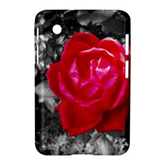 Red Rose Samsung Galaxy Tab 2 (7 ) P3100 Hardshell Case
