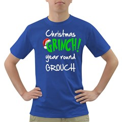 Christmas Grouch Men s T-shirt (Colored)