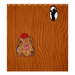 Bad Boy Shower Curtain 66  x 72  (Large)
