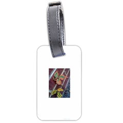 A Leaf In Stages Luggage Tag (two Sides)