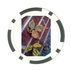 A Leaf In Stages Poker Chip (10 Pack)