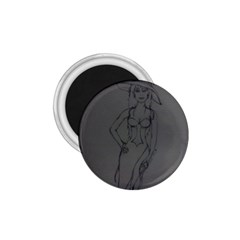 Witchy 1.75  Button Magnet