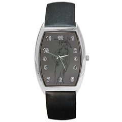 Witchy Tonneau Leather Watch