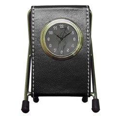 Witchy Stationery Holder Clock