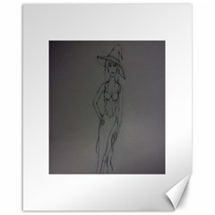 Witchy Canvas 16  x 20  (Unframed)