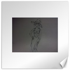 Witchy Canvas 20  X 20  (unframed)