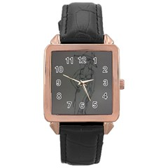Witchy Rose Gold Leather Watch
