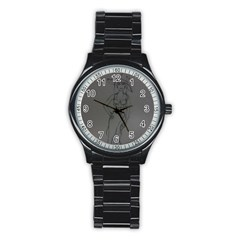 Witchy Sport Metal Watch (black)