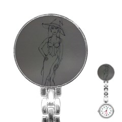 Witchy Stainless Steel Nurses Watch