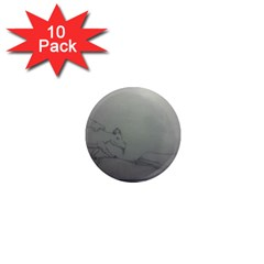 To Battle 1  Mini Button Magnet (10 pack)