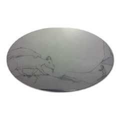 To Battle Magnet (Oval)