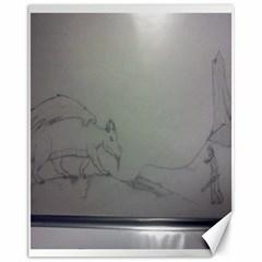 To Battle Canvas 11  x 14  (Unframed)