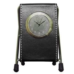 Smoke Break Satyr Stationery Holder Clock