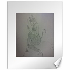 Smoke Break Satyr Canvas 16  x 20  (Unframed)