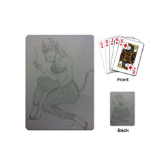 Smoke Break Satyr Playing Cards (Mini)