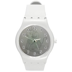 Smoke Break Satyr Plastic Sport Watch (Medium)