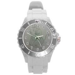 Smoke Break Satyr Plastic Sport Watch (Large)