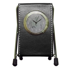 Sacrifice Stationery Holder Clock