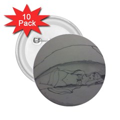 Restful 2.25  Button (10 pack)