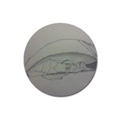 Restful Magnet 3  (Round)