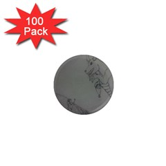 Offering 1  Mini Button Magnet (100 pack)