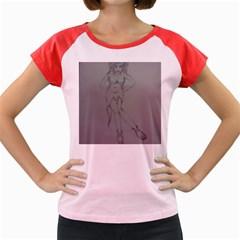 Mischevious Women s Cap Sleeve T Shirt (colored)
