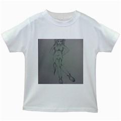 Mischevious Kids T Shirt (white)