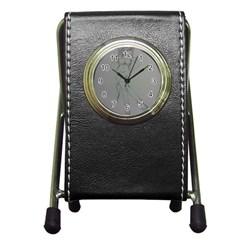 Mischevious Stationery Holder Clock