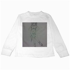 Mischevious Kids Long Sleeve T Shirt