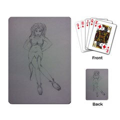 Mischevious Playing Cards Single Design