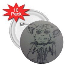 Cutie Creature 2.25  Button (10 pack)