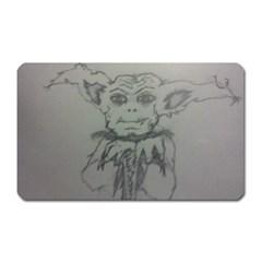 Cutie Creature Magnet (rectangular)