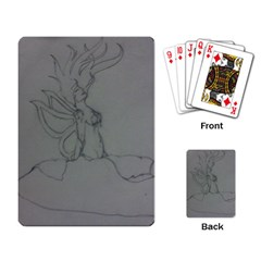 Bursting Forth Playing Cards Single Design