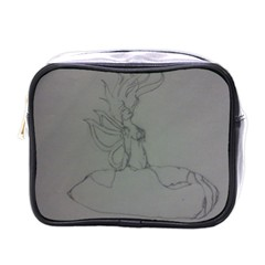 Bursting Forth Mini Travel Toiletry Bag (One Side)