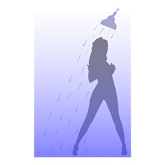 Shower Lady Shower Curtain 48  x 72  (Small)