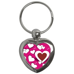 Valentine Hearts  Key Chain (Heart)
