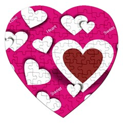 Valentine Hearts  Jigsaw Puzzle (heart)