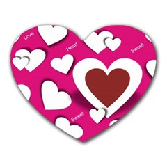 Valentine Hearts  Mouse Pad (heart)